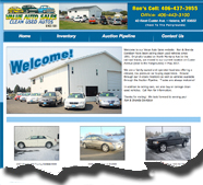 This site integrates an automobile database of vehicles on the web site via a custom API from MyOnlineDealer automobile database. Staff/contractors add automobiles, photos and video files on a daily basis. Over 40 data elements are automatically pulled into the web site via a dynamic API. All photos, video and product details are automatically formatted and displayed based upon custom pre-set parameters.